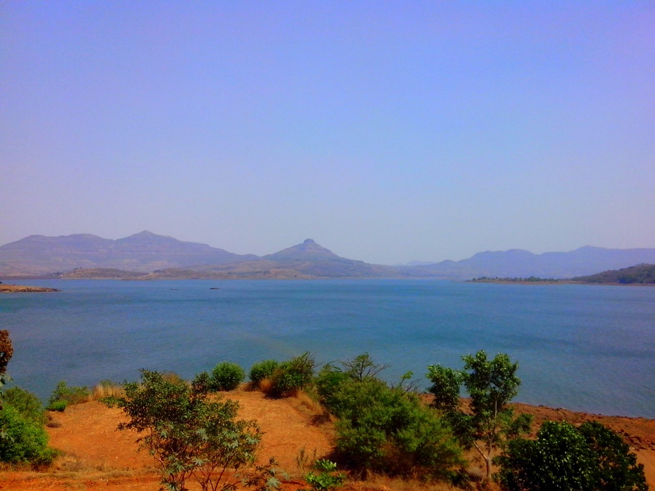 Pawna Dam (just 7 Km. from Training Center)